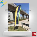 Preiswerte bekanntmachende Strand-Markierungsfahnen-Fahne mit Ihren Selbst Entwurfs-Drucken