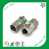 Wasserdichter Komprimierung-Verbinder HF-Verbinder-Hersteller des Kabel-RG6