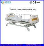 중국은 설명서 3 크랭크를 요하거나 적당한 병원 가구를 의학 침대 동요한다