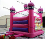 Le meilleur PVC Tarpaulin Castle plein d'entrain Prices/Inflatable Castle Princess de Standard 0.55mm