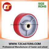HochleistungsImperial Polyurethane Caster mit Cast Iron Center, Diameter 4-8inch