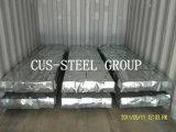 Hoja acanalada de la placa de azotea del metal de Aluzinc/del material para techos de Zincalume