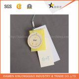 Tag impresso etiqueta do cair do preço do vestuário de Jean do logotipo da impressão da etiqueta