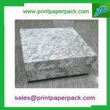 Rectángulos de regalo de papel de empaquetado de la ropa de lujo