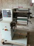 Máquina de corte longitudinal con rebobinado ejes intercambiables