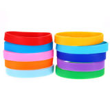 Bracelete amigável Multi-Color do silicone de Eco para miúdos/adulto