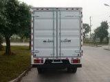 Isuzu 4X2 5 Ton Mini Van Cargo Truck with Double Row Cabin