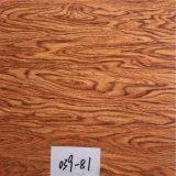 زهرة وخشب أرضية أسلوب يطبع [بفك] مادّيّة أريكة جلد