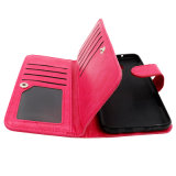 iPhone аргументы за PU Style Car Holder Leather Billfold