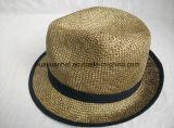 Chapéus 100% do Fedora da palha de Panamá