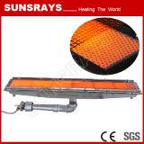 Operación de secado de la tubería de la hornilla infrarroja de la alta calidad (quemador infrarrojo GR2402)