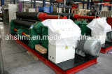W11-12 * 3000mm Série Mecânica Type 3 Rollers Rolling and Bending Machine / Pipe Forming Machine / Tube Bending Machine