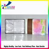 Empacotamento cosmético orgânico de papel por atacado de dobramento da forma do produto do OEM