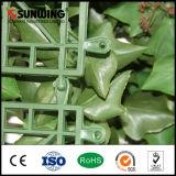 L'article truqué artificiel enduit de PVC de modèle neuf de jardin plante la haie et les frontières de sécurité