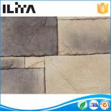 La pierre artificielle de panneau de mur en pierre de matériaux de construction (YLD-30003), coupent la brique réfractaire