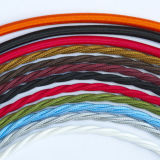 Провод пурпурового сердечника провода 2 ткани Braided электрический Twisted