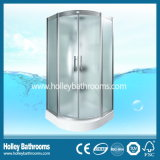 Setor de banho multifuncional com porta de vidro fosco (SR116C)