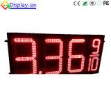 Segno telecomandato esterno della visualizzazione di prezzi di gas del LED