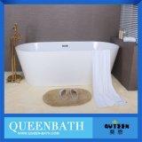 Bañera de acrílico de lujo cómoda rectangular del precio barato para el adulto (JR-B822)