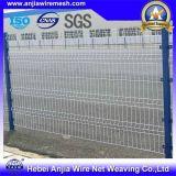 PVC beschichteter Sicherheits-Galvano geschweißter Maschendraht-Zaun