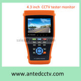 "Draagbare IP Camera kabeltelevisie Video Monitor Tester met Poe 4.3 "" TFT LCD"