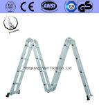 Vouwend de Ladder van het Aluminium met Verzekerde Hoeveelheid