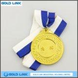 Монетки металла изготовленный на заказ золотистых медалей медали пожалования спортов коммеморативные