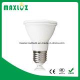 Bulbo plástico barato do diodo emissor de luz do alumínio 8W PAR20 com E27 Dimmable