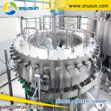 Máquina que capsula de relleno carbonatada botella de la bebida del animal doméstico
