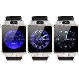 Montre-bracelet intelligente intelligente de l'horloge Dz09 de montre de smartphone de Bluetooth de sport avec SIM Reloj pour l'état androïde de sommeil d'archive de téléphone cellulaire