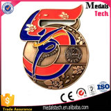 공장 직매 원형 기념품을%s 금에 의하여 도금되는 스포츠 메달