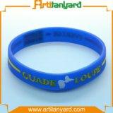 GroßhandelssilikonWristband mit Ihrem Firmenzeichen