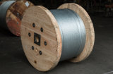 AISI ASTM BS Hochspannung-heiße eingetauchte galvanisierte Stahldraht-Strang-Stütze-Draht-Spanndraht-Masse