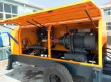 Bomba concreta portátil pequena da condição nova e da potência Diesel
