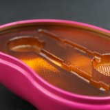 Estanho do alimento/caixa da caixa estanho do chocolate/estanho dos bolinhos com preço do competidor (B001-V4)