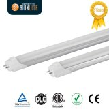 Tubo chiaro dell'UL 4FT 1200mm LED T8 LED, indicatore luminoso compatibile del tubo del LED