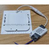 Luz de painel do diodo emissor de luz-- Painel magro quadrado montado encaixado 15W do painel 15W