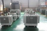 S11 serie 100 KVA 10kv Non-Escitation che regola trasformatore elettrico