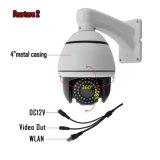 Câmera da abóbada do panorama do CCTV de 360 graus