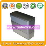 Rechteckiger Metalltee-Zinn-Kasten, Tee-Zinn