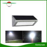La parete solare illumina le lampade economizzarici d'energia impermeabili esterne della lampada del sensore di radar di a microonde della lega di alluminio 48 LED per il giardino