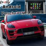 Auto androide GPS-Navigationsanlage-videoschnittstelle für Porsche-Macan, Cayennepfeffer, Panamera; Noten-Navigation, WiFi, BT, Mirrorlink, HD 1080P, Google Karte ausbauen