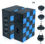 5V 4.8A 4USB Arbeitsweg-Aufladeeinheit mit LED-Anzeiger