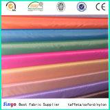 Tela 100% de la ropa del tafetán 190t de la materia textil del poliester