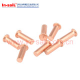 高品質の銅によってめっきされる溶接ねじ