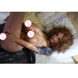 165cm sehr große Brüste Sexi Geschlechts-Puppe-Silikon-Geschlechts-Größengleichpuppe für Männer