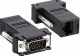 Cat5/6 케이블을%s VGA 증량제 또는 변환기