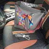 Sacchetto di cuoio personalizzato di Shoudler delle donne dell'unità di elaborazione del nuovo di stile Vegan della borsa con la cinghia variopinta Sy7791