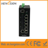 3개의 섬유 2 기가비트 SFP를 가진 운반 산업 이더네트 네트워크 스위치