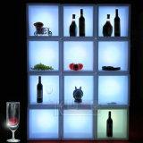 Tableau de cube en DEL/Tableau élégant d'éclairage/seau à glace brillant de cube Tableau de loisirs